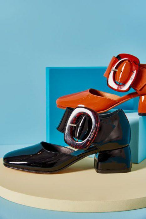 zapatos de charol para mujer verano 2021 Mishka
