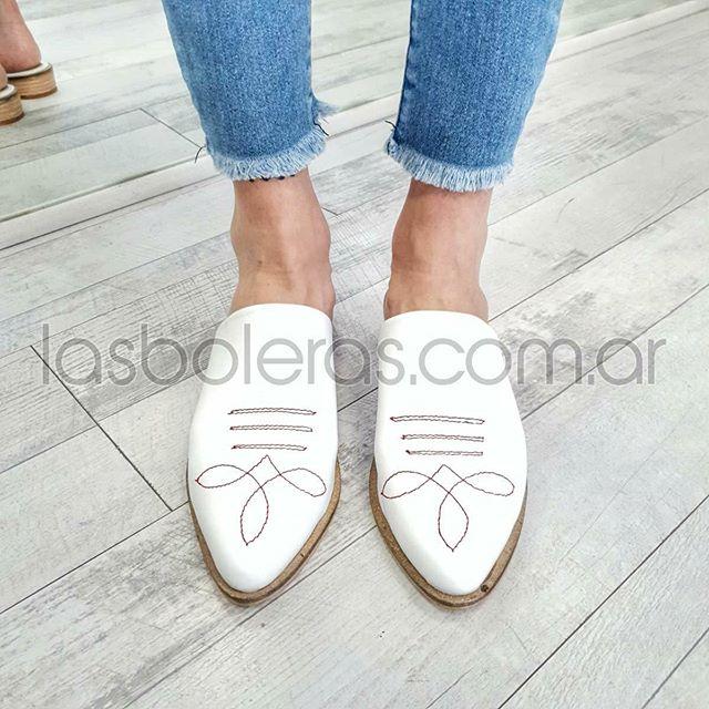 zapatos planos blancos para mujer verano 2021 Las Boleras