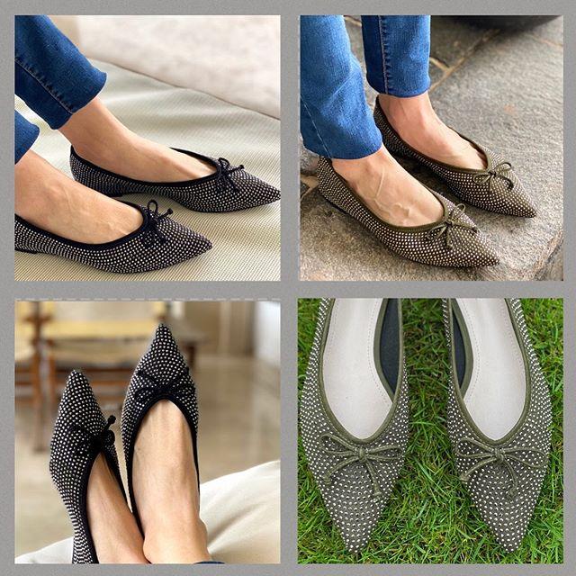 zapatos planos con punta fina verano 2021 Perugia