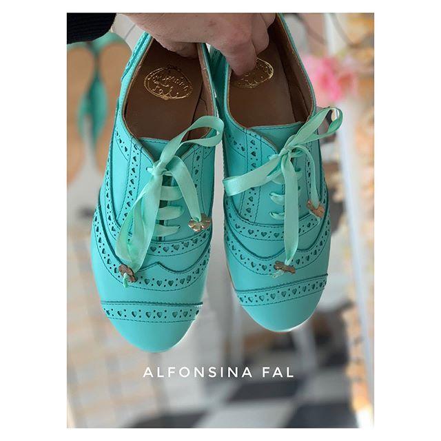 zapatos turquesa primavera verano 2021 Alfonsina Fal