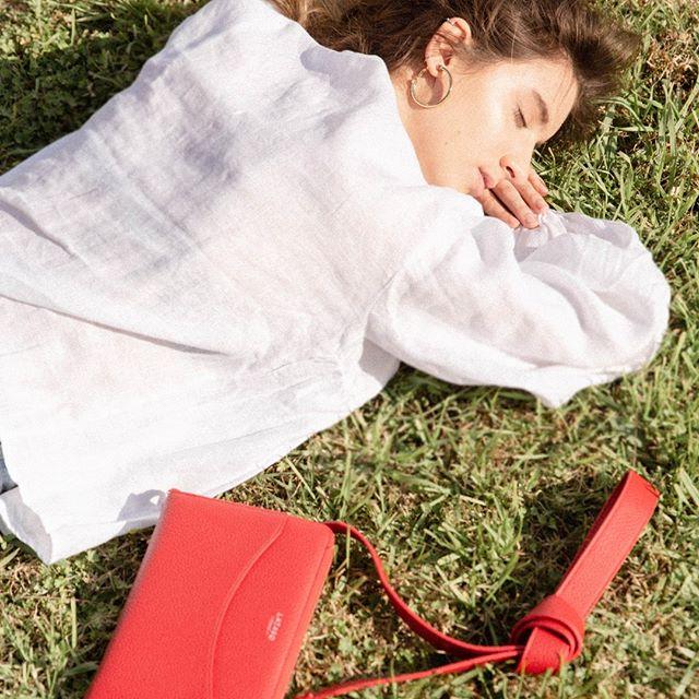 bandolera roja para mujer verano 2021 Lazaro