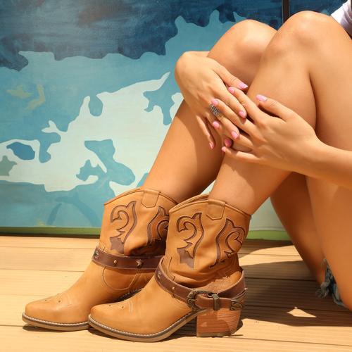 botas texanas verano 2021 Calzado Fragola