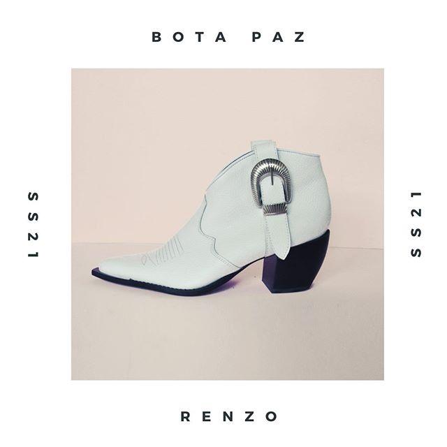 botinetas blancas verano 2021 Renzo Rainero