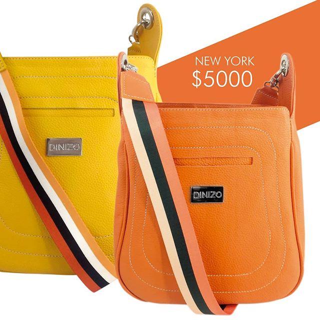 carteras naranja y amarilla Di Nizo verano 2021