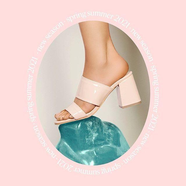 sandalia rosa de charol verano 2021 Calzado Lucerna