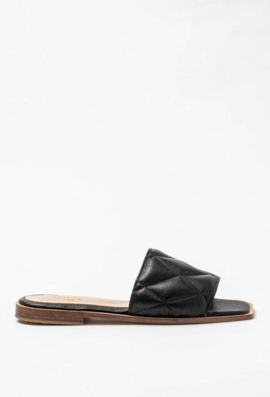 sandalias chatitas negras verano 2021 Sofi Martire