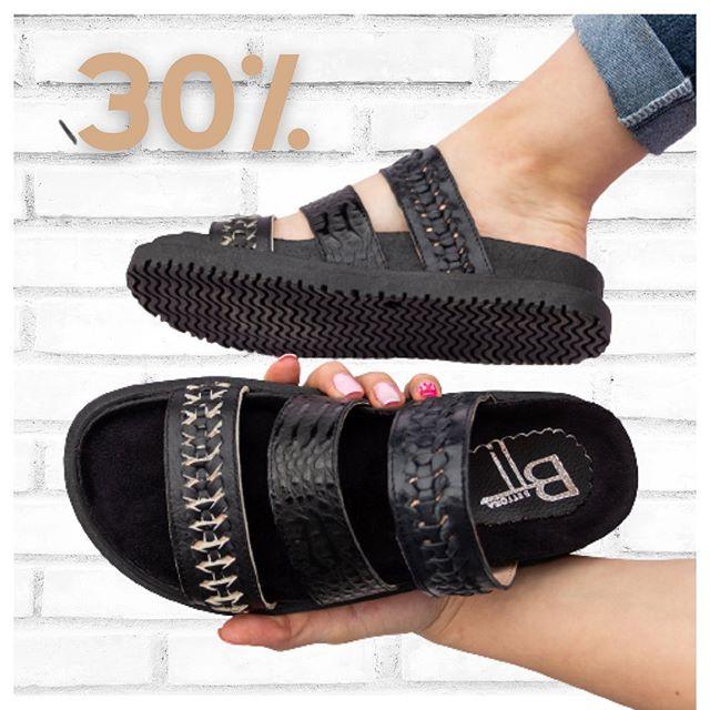 sandalias planas negras verano 2021 calzados Bettona