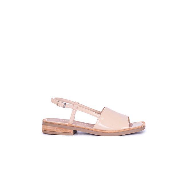 sandalias planas rosadas verano 2021 Calzados Micheluzzi
