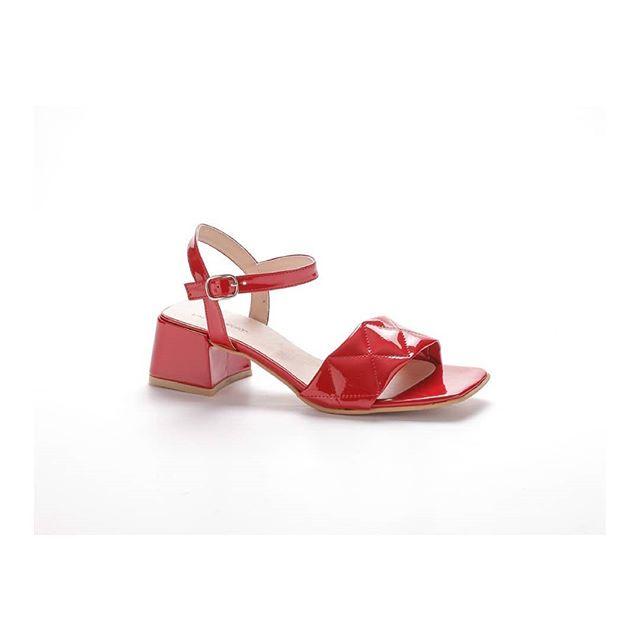 sandalias rojas verano 2021 Lady Comfort
