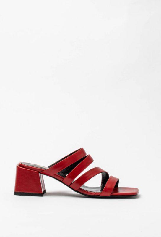 sandalias rojas verano 2021 Sofi Martire