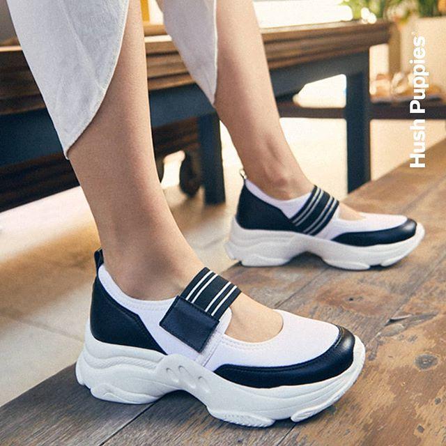 zapatillas con abrojos y suela ergonmica verano 2021 Hush Puppies