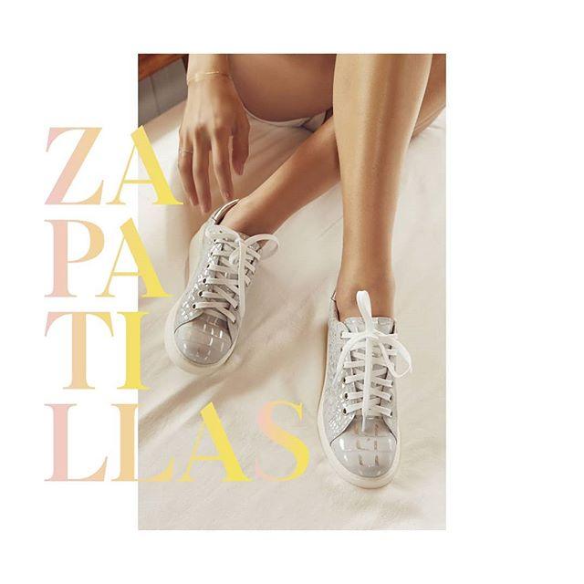 zapatillas con brillo gravagna verano 2021