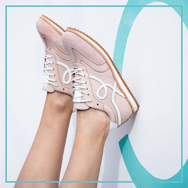 zapatillas rosa pastel verano 2021 Natacha calzados