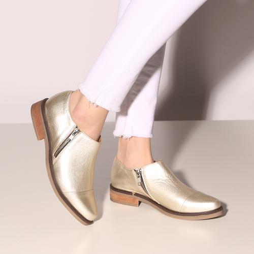 zapatos dorados verano 2021 Calzado Fragola