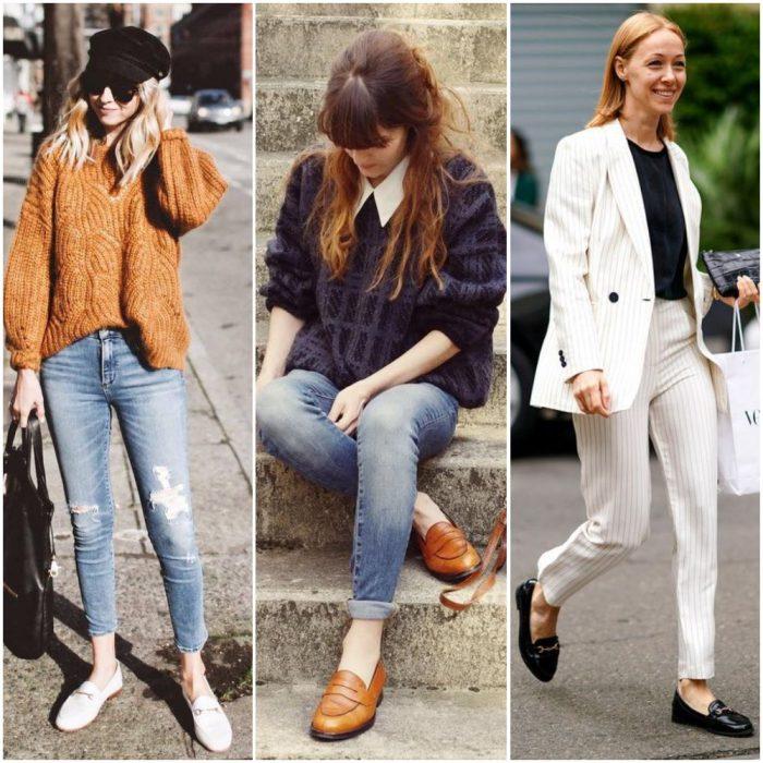 Outfits de mujer con mocasines
