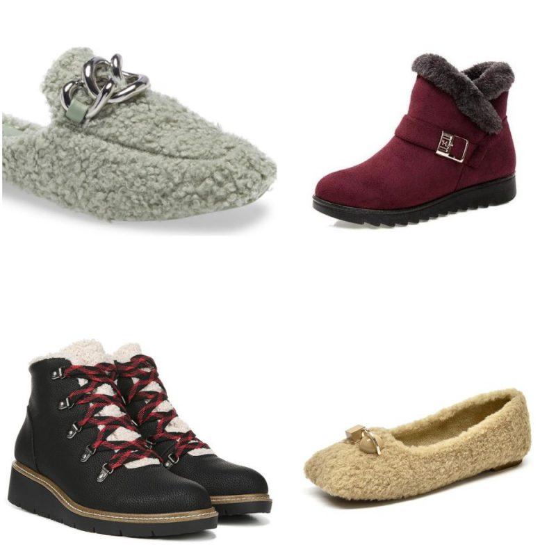 Tendencias en calzados invierno 2021 Corderito o pelo sintetico