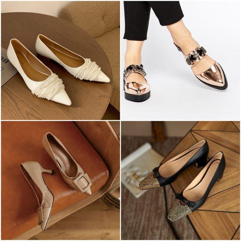 Tendencias en calzados invierno 2021 zapatos femeninos con punta fina