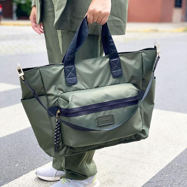 bolso verde militar invierno 2021 Besha