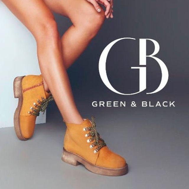 botitas mostaza para mujer invierno 2021 Green and Black