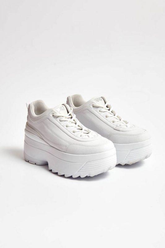 zapatillas blancas con altas invierno 2021 47 Street