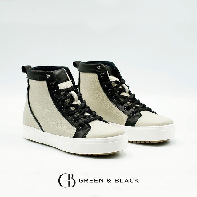 zapatillas botitas para mujer invierno 2021 Green and Black