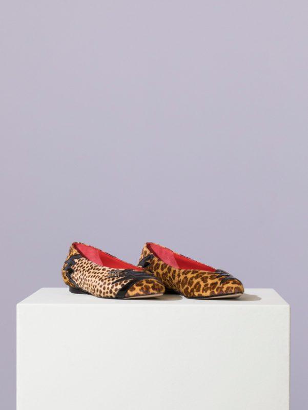 zapatos animal print invierno 2021 jazmin chebar