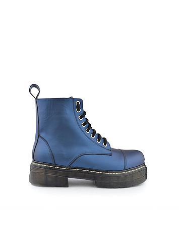 borcego azules invierno 2021 Ferraro calzados