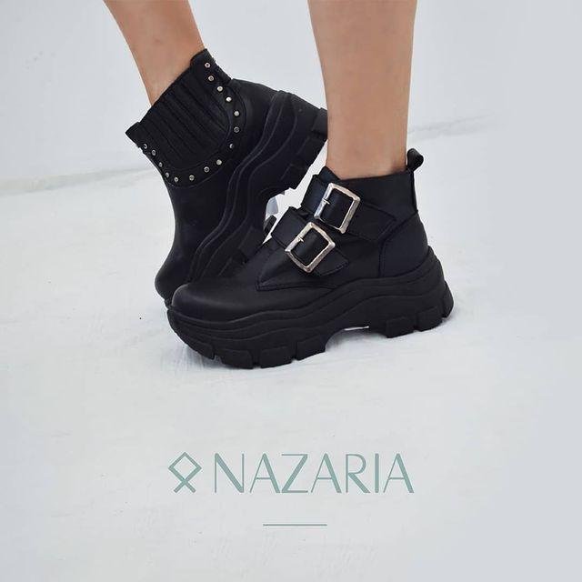 borcego con hebilla invierno 2021 Nazaria