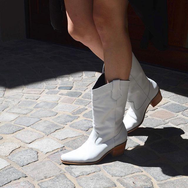 botas blancas invierno 2021 Calzados Heiko