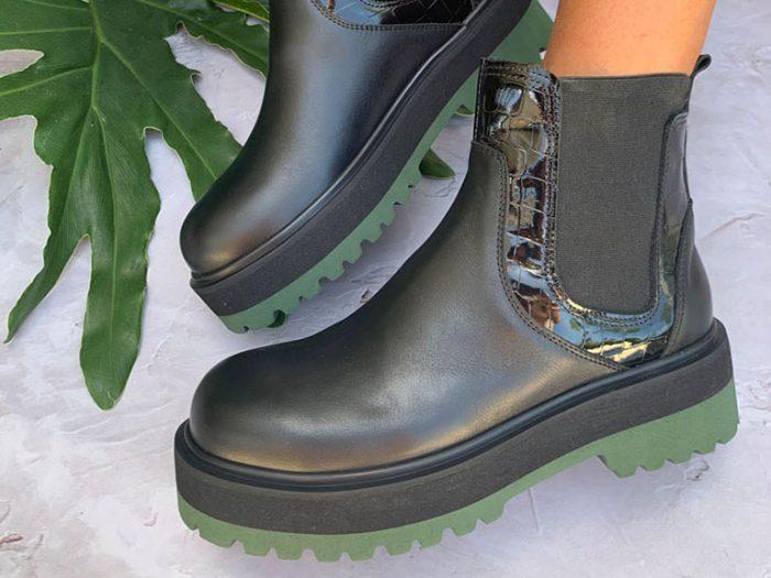 botas negras de lluvia modernas invierno 2021 Micadel