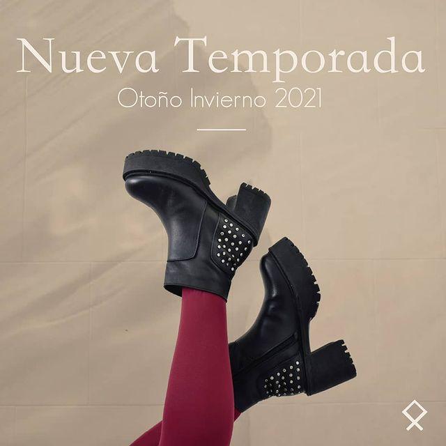 botas taco medio invierno 2021 Nazaria