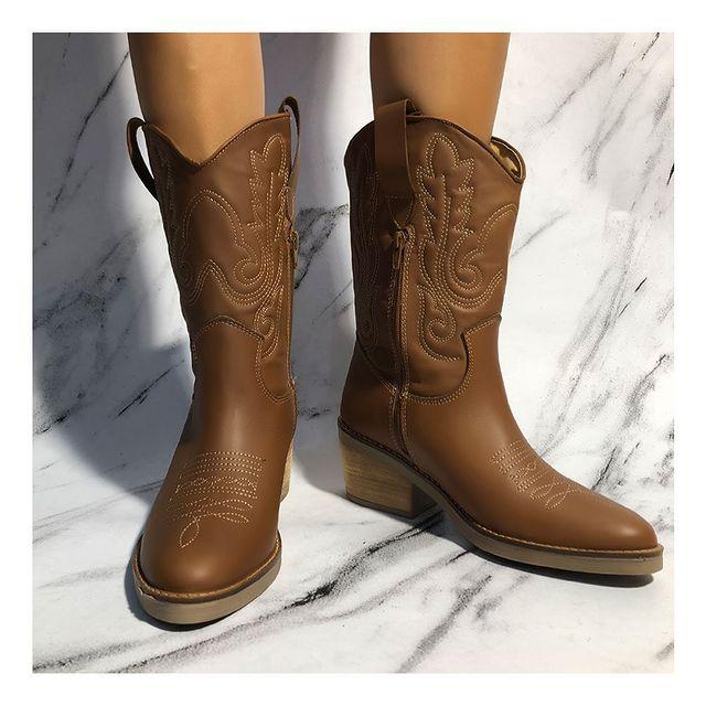 botas texanas invierno 2021 Calzados Tops
