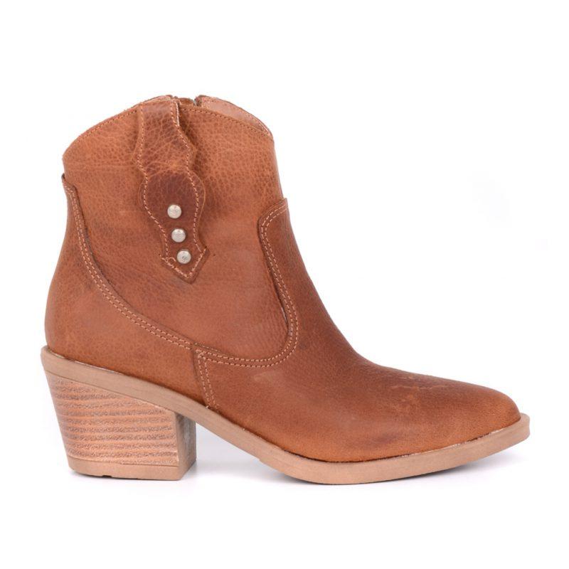 botas texanas marrones invierno 2021 Heben