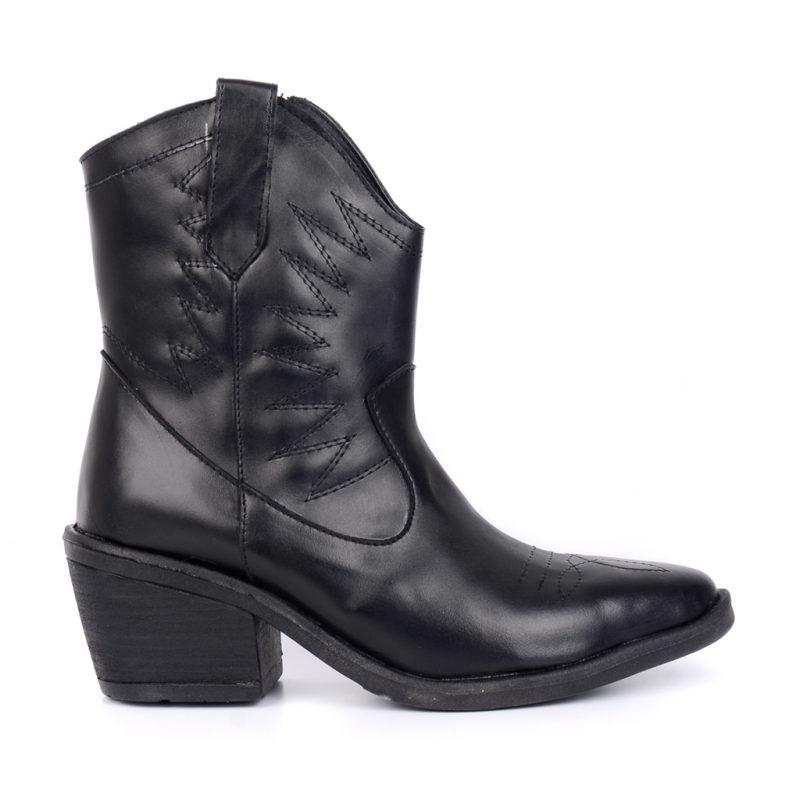 botas texanas negra invierno 2021 Heben