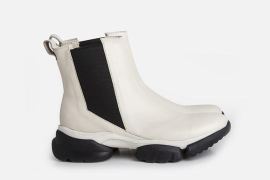 botitas blancas invierno 2021 Ferroni calzado