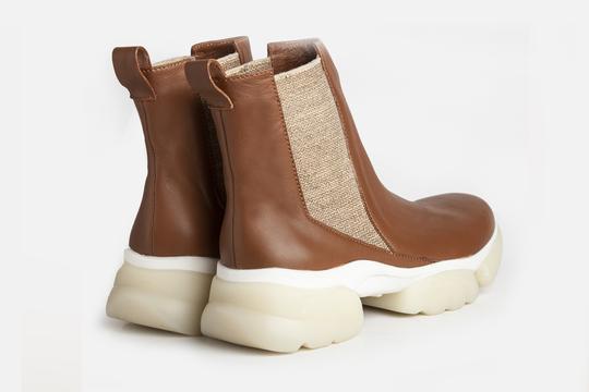 botitas marrones invierno 2021 Ferroni calzado