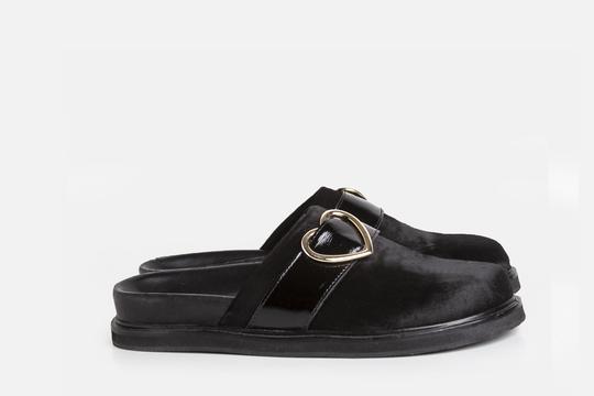 slipper de pelo sintetico invierno 2021 Ferroni calzado