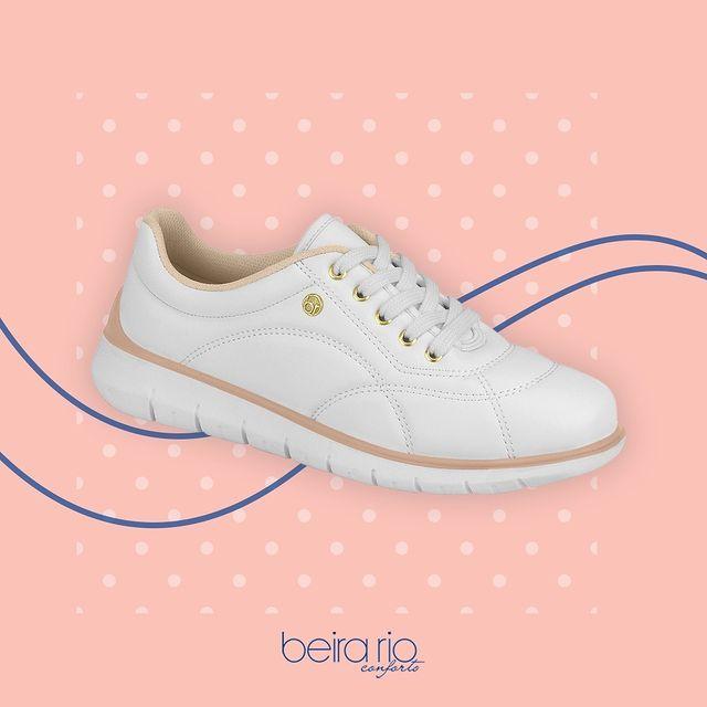zapatillas blancas invierno 2021 Beira Rio
