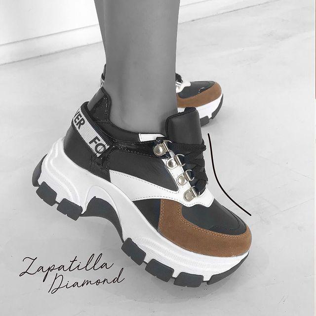 zapatillas con plataforma invierno 2021 Luna Chiara
