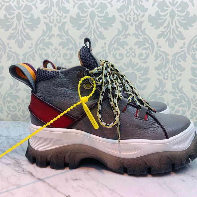 zapatillas grises Valkirya Zapatos
