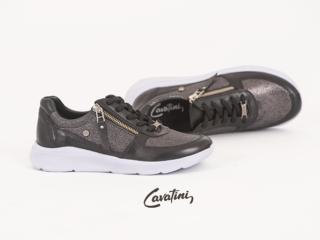 zapatillas urbanas negras invierno 2021 Cavatini mujer