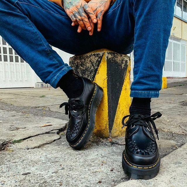 zapato abotinado Dr Martes invierno 2021