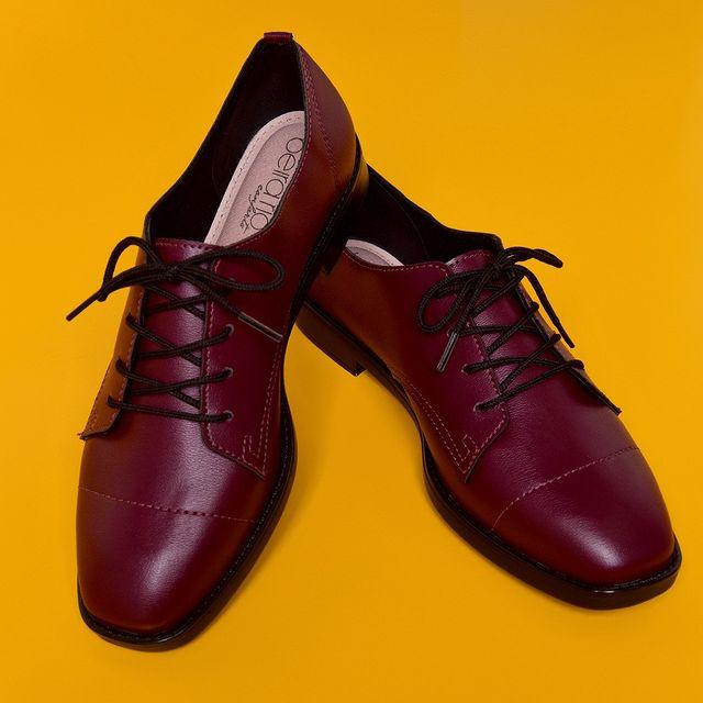 zapatos abotinados mujer invierno 2021 Beira Rio