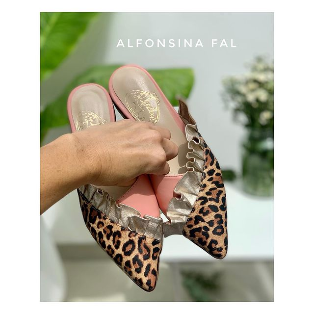 zapatos animal print invierno 2021 ALfonsina Fal