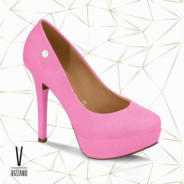 zapatos con plataforma fucsia invierno 2021 Calzados Vizzano