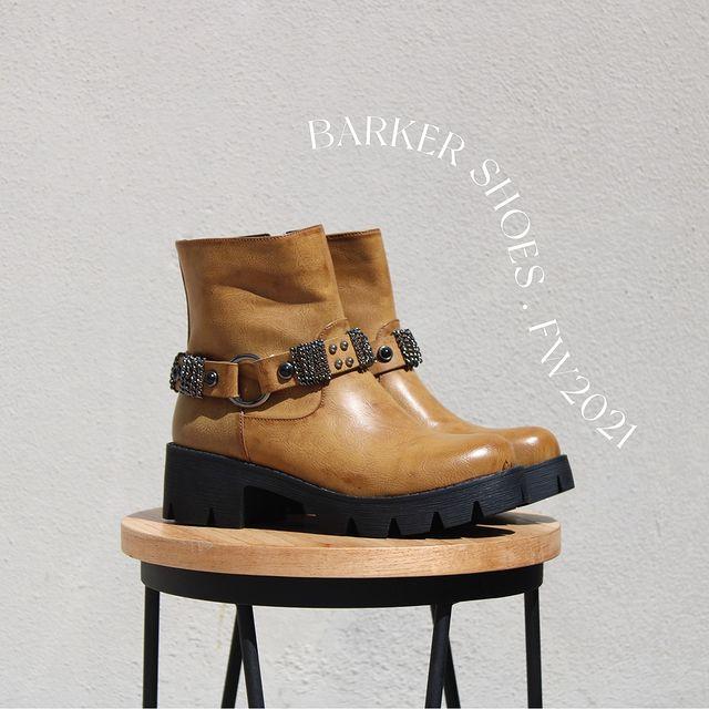 botas marrienes invierno 2021 Barker
