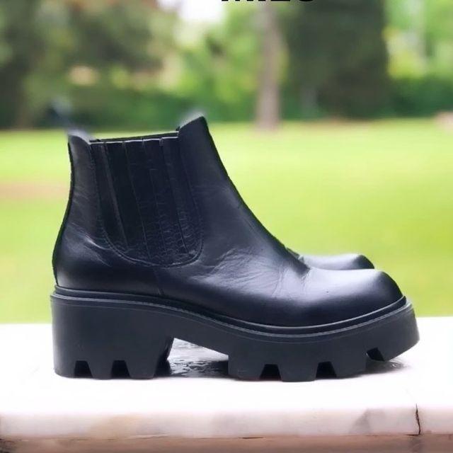 botas negras invierno 2021 Credo