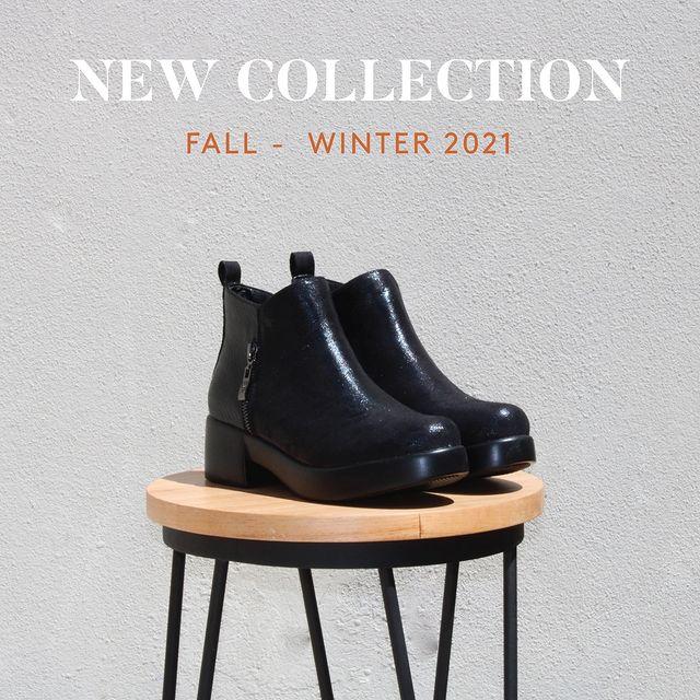 botineta negra invierno 2021 Barker