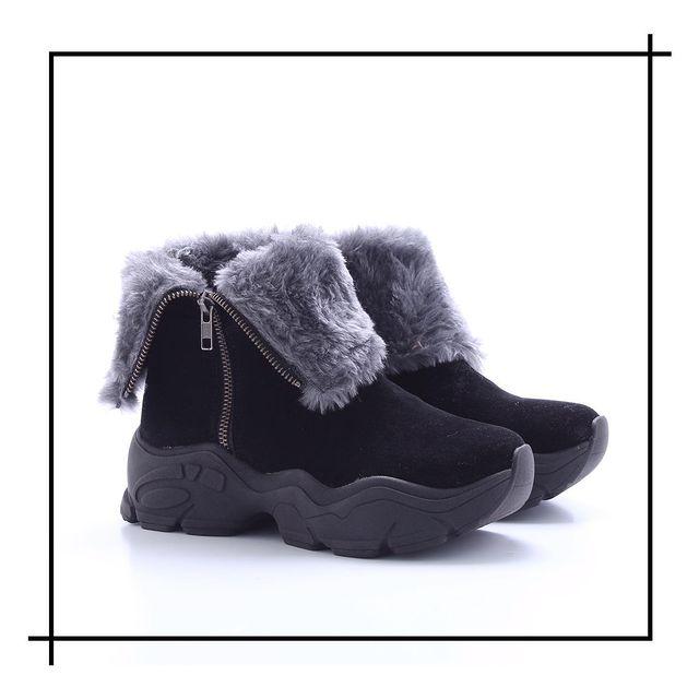 botitas con pelo sintetico invierno 2021 Lady Comfort