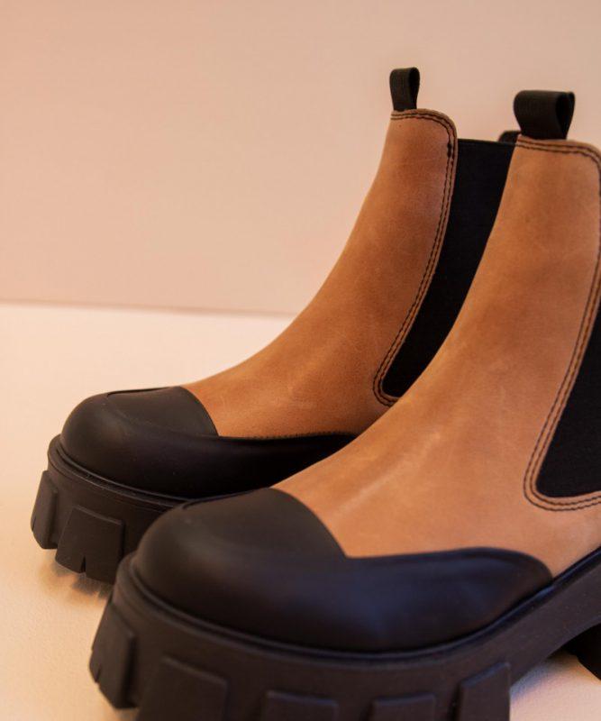 botitas negras y marrones invierno 2021 Calzados Kosiuko